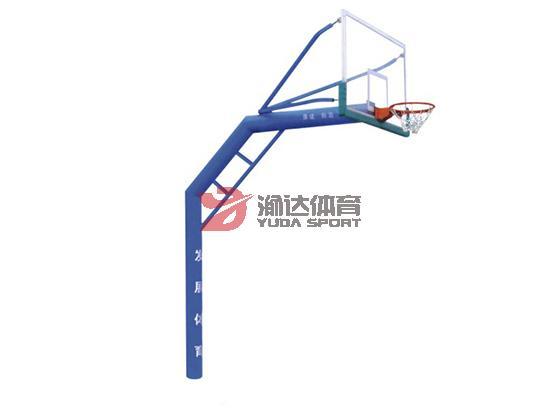 圆管三节式篮球架